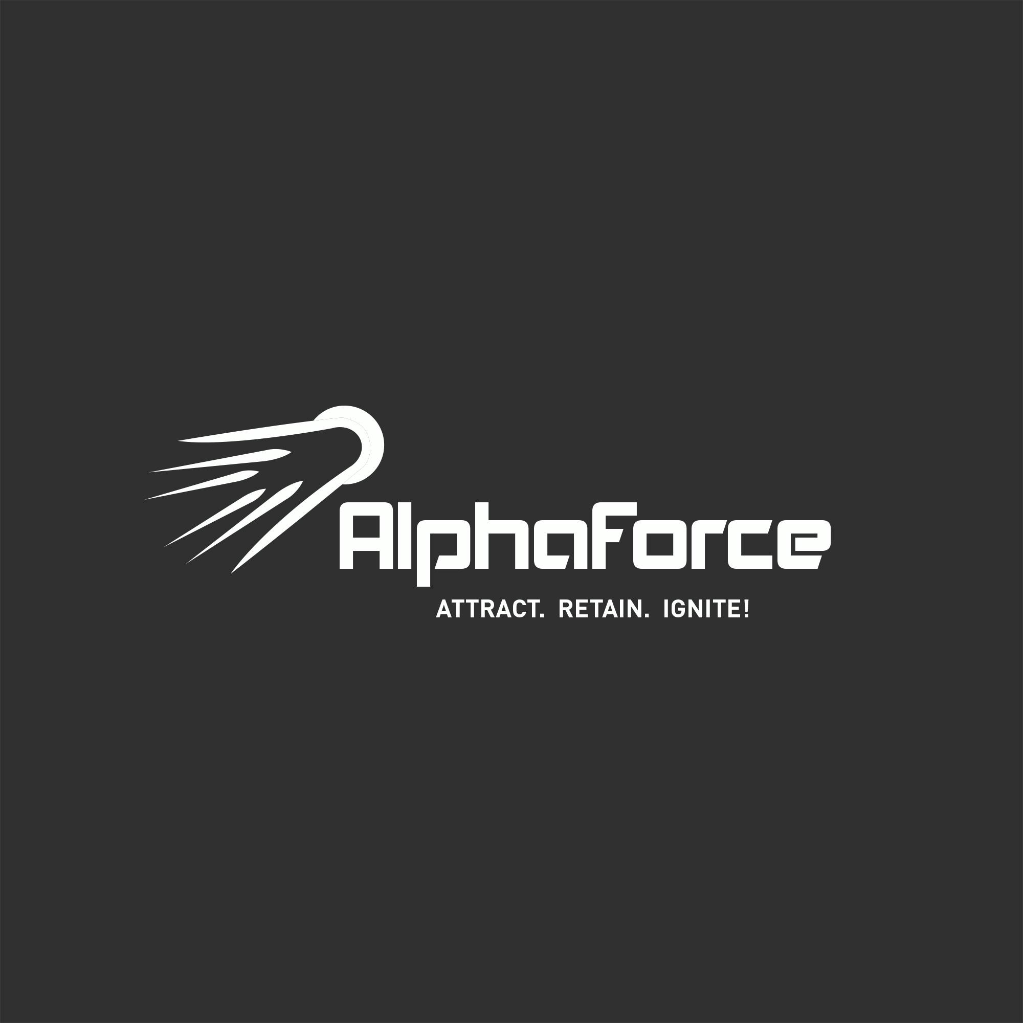 Alpha Force Logo Design