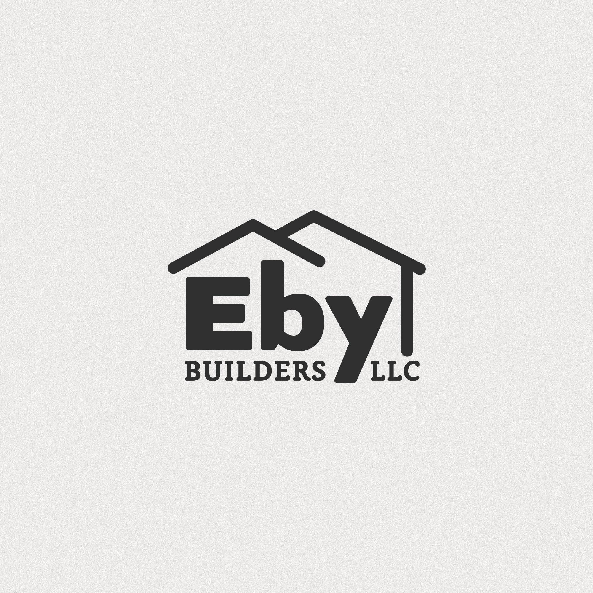 Eby Builders Logo Design