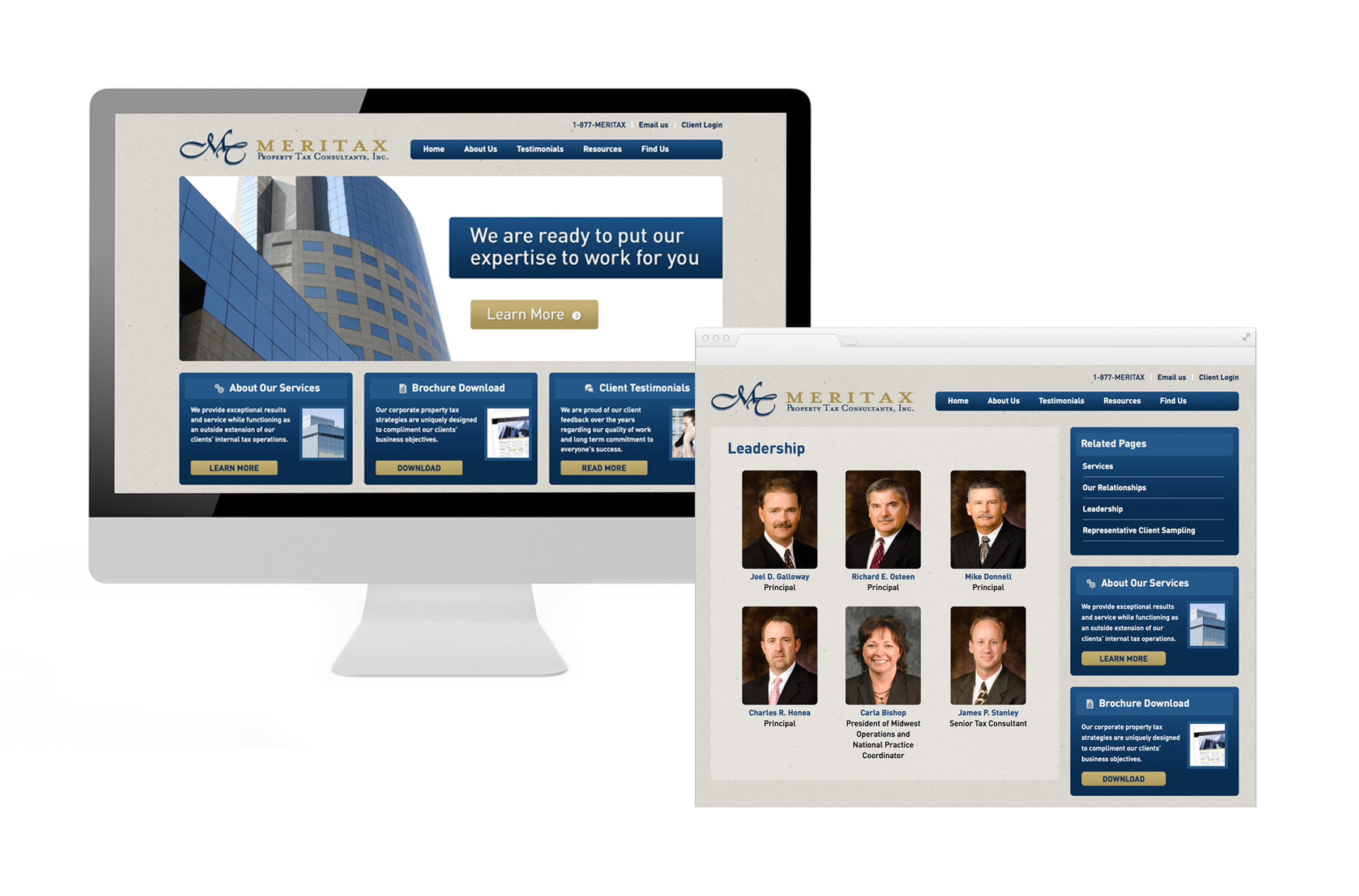 Property tax consultant website
