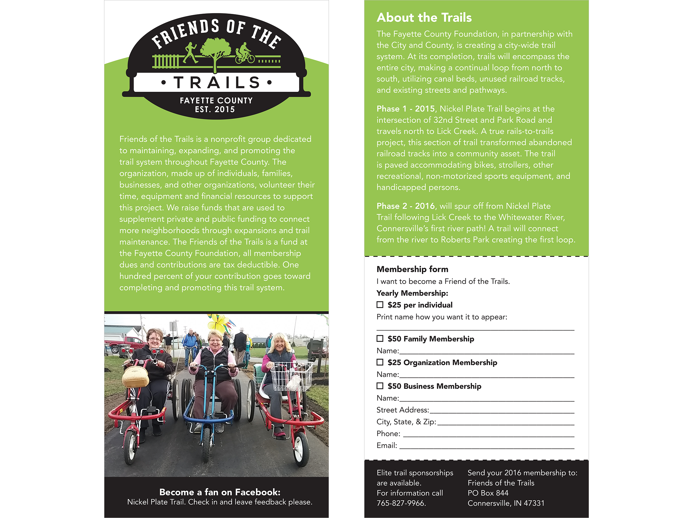 Rail Trail Brochure