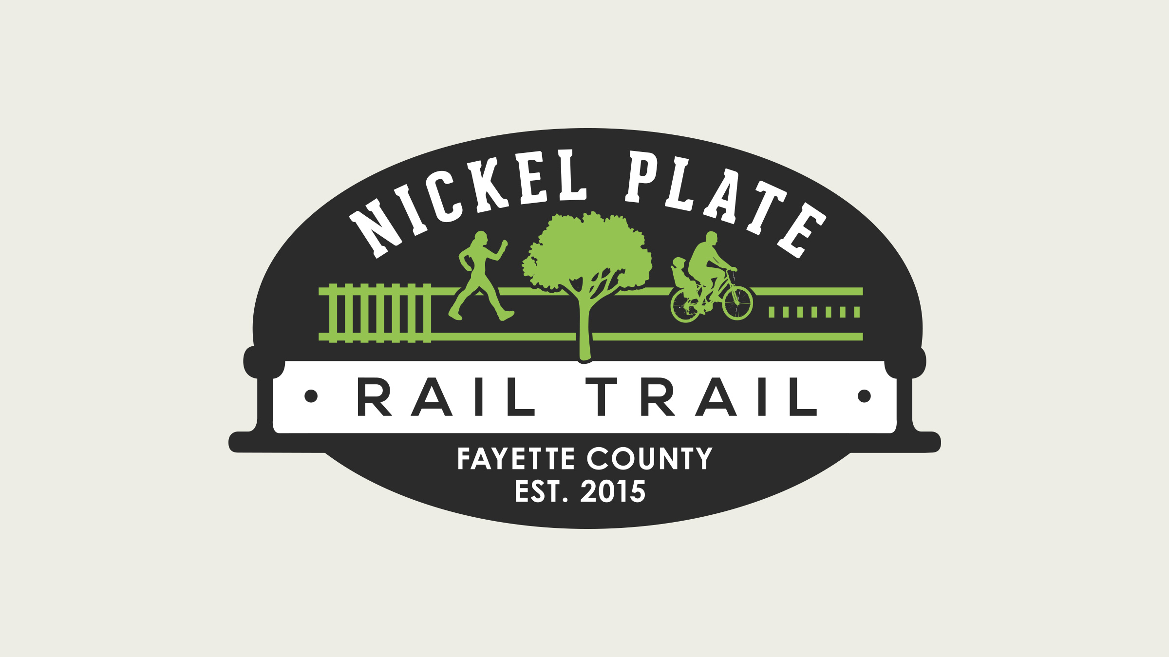 Rail Trail Logo Design