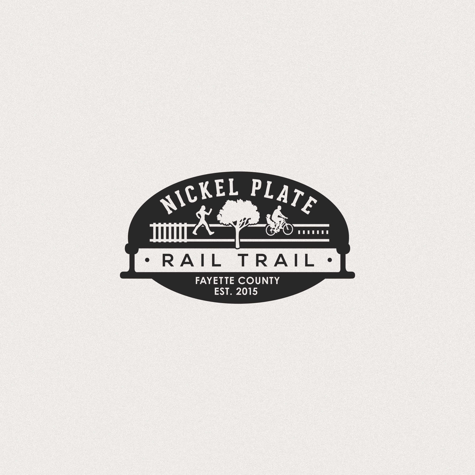 Rail Trail Logo Design