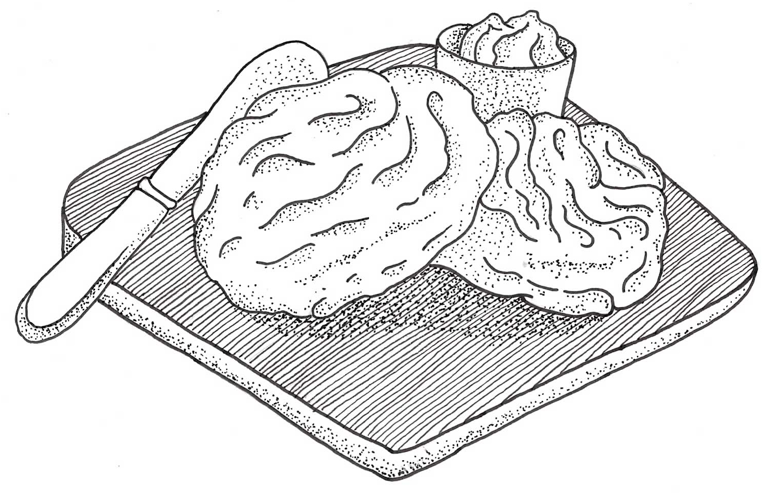 Biscuit Illustration